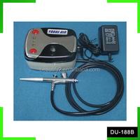 HIKOSKY air brush compressor kit makeup airbrush compressor set DU-188B
