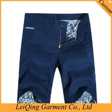 Washed Slimming man fashion cargo shorts with belt cotton twill