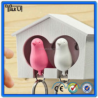 Lover whistle key ring holder for wedding gifts souvenirs keychain