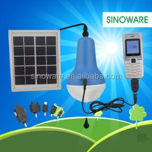 Solar Lamp With Mobile Charger For Phone For Samsung Nokia Sony Solar Light Indoor Home And Outdoor Garden Lighting