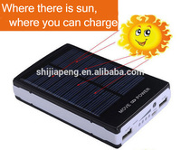 Portable Charger External Battery Pack Backup 30000mah Solar Power Bank for iPhone 6 Plus 5S 5C 5 4S, iPad Mini, Samsung