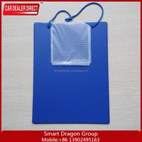 Strong Velcro PP plastic clear file folder