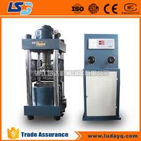 TSY-3000B 300ton Electric screw digital display concrete cube compression testing machine