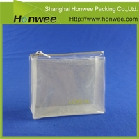 christmas packaging silver organza small pouch