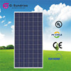 Delicate polycrystalline 280w solar panels for apartments