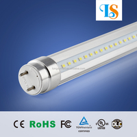 t8 fluorescent 1.5m 5ft led light tube, 20w 24w 25w 30w, 100lm/w with 3 years warranty