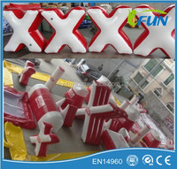 Inflatable paintball obstacles bunkers/paintball inflatable bunkers/inflatable paintball bunkers for sale