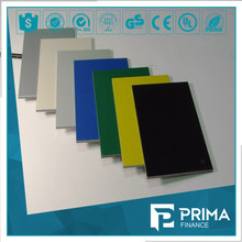 fancy color high quality white melamine board