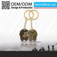 Professional Manufacturers custom souvenir car logo keychain