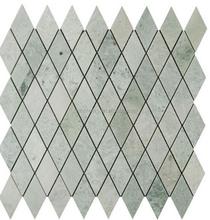 2015 de piedra Natural ming mármol verde en forma de diamante azulejos de mosaico