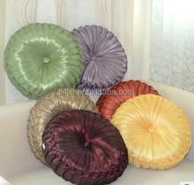 CR200 fashion style pumpkin round cushion handmade cushion