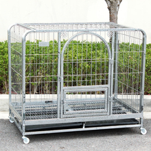 factory price cheap square tube safety dog cage specially design for danger dog