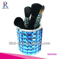 2014 Pop Bling Rhinestone Origami Pen Holder With Crystal China Factory