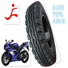 high quality professional manufactuer 4.00-8 motorcycle tube tyres and tubeless tyres