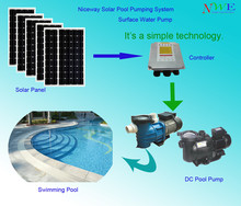 Niceway Solar power pump (high quality DC pump)