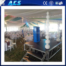 Hot selling Aluminum outdoor stage modular folding stage stable stage