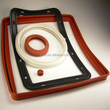 Custom made solid silicone molded products