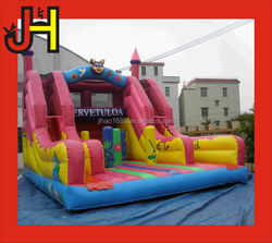 Giant inflatable obstacle slide/animal bear slide for sale