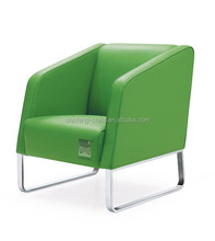 Commercial popular colorful leather high quality restaurant chair and sofa 2046#