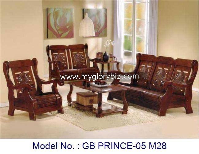Sala de estar sofás, Madera sofás, Muebles de madera