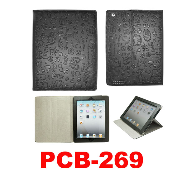 For ipad 4 leather case,leather cover for ipad ,for ipad 5 case