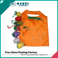 Customized cheap 190T foldable polyester shopping bag