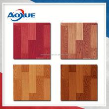Plastic pvc vinyl flooring with sponge backing