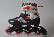 (2015) durable and safety size adjustable inline skating shoes for kids with ce quality QC