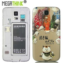 Replacement Battery Housing Back cover for Samsung Galaxy S3 S4 S5 Note 2 3 4 in Cute Printed Pattern