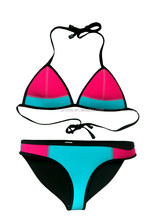 2015 sexy swimming wear triangl neoprene Bikini Swimsuit beach dress separates swimsuit size xs-xl