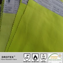 hi visible fabric/fluorescent yellow fabric for mens jacket