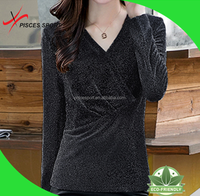 new york women favourite v neck t shirts wholesale