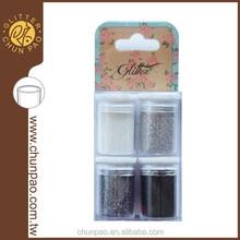Metallic Glitter Powder Set for Nail decoration, Arts and Crafts, Screen printing, Greeting card