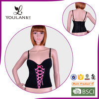 Good Quality Fitness Hot Lady Polyester Waist Training Body Shaper