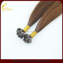 Alibaba china nail tip hair extension manufacturer,No chemical processed organic hair extensions