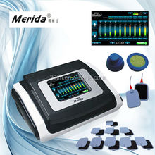 10 channels output ems muscle stimulation machine with touch screen
