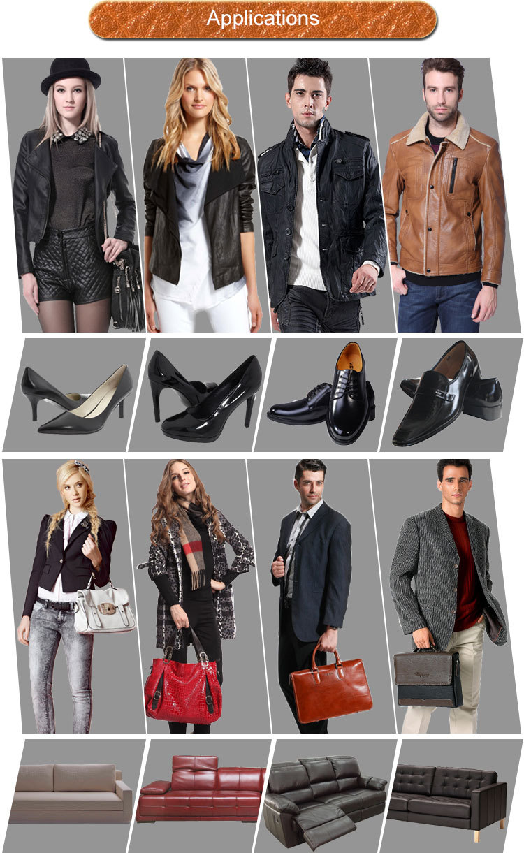pu leather for shoe artificial leather matte pu leather