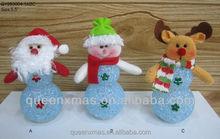 Light up eva santa snowman deer hot toys for christmas 2015