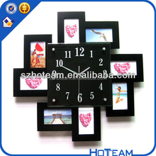 acylic wall frames photo display magic picture frames surrounded the clock