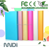 The best quality Li-polymer battery metal power bank 20000mah for smartphone with logo printing