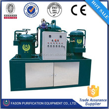 Change black oil to new oil machine for recycling used mobile oil