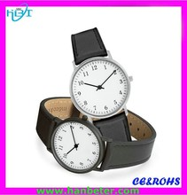 Minimalist leather watches blush stainless steel new look watches with high quality leather strap