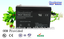 UPS battery/Rechargeable Battery/Sealed Lead acid battery 12V7.2AH