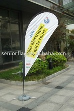 outdoor printed beach flag banner with high quality pole