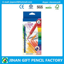 High Quality Art Set 12 pc Watercolor Pencil for Artist/Pencil Factory