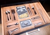 Combined Cutlery Divider, Cutlery Organizer including Drawer Storage Tray, Corn Box, Knife Block