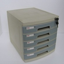 Hot Selling 5 drawers Office Plastic File Cabinet