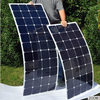 flexible solar panel 80w 24v light weight solar panel