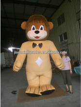 Giant Inflatable Lion fur mascot costume for Celebration, Inflatable Animal