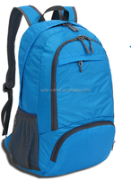 Wholesale new fashion trend bag 1680D high quality outdoor backpack with solar panel